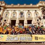 "Image for the Tweet beginning: ""Azzolina dimettiti"", manifestazione a Roma:"