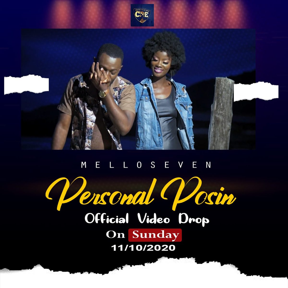 Tomorrow is MelloDay🌟🌟 Grab Your Popcorn n snacks and get set to watch the visuals of #PersonalPosin with your very own #PersonalPosin  #sierraleonetothetop #irepsalone https://t.co/lHiZX0Ncag