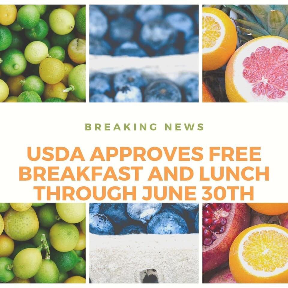 We have more exciting news!! ALL meals are FREE for ALL students through June 30, 2021!!! Who's excited?? We are!!! @lexingtonone https://t.co/2HFxttoPLU