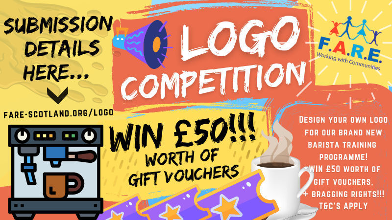Want to win a £50 gift voucher of your choice!?✅  *enter our logo competition😊  Be creative this weekend... get involved!👊🎨