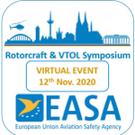 Register now for the Virtual #EASA #Rotorcraft and #VTOL Symposium 2020! Join us online 12 Nov to discuss the VTOL developments and safety perspectives at this year's Symposium which has transformed into a live virtual event. https://t.co/jzxVUPv8dC  #helicopters #EuropeanRotors