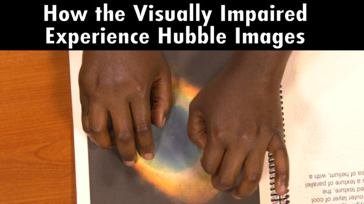 What does the universe feel like? ✨ For #WorldSightDay, explore how Hubble images can be experienced through touch. NASA braille books: go.nasa.gov/3nsDlMJ