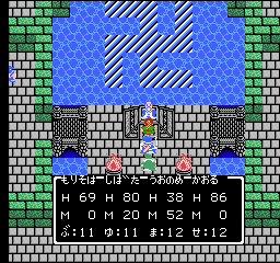 [FC]ドラゴンクエストⅢ 勇者しばた #3(ピラミッド~ダーマ)レベル9でピラミッドを攻略して「まほうのかぎ」を入手。イシスとアリアハンで宝物庫を漁って、ポルトガ~バハラタ~ダーマへ。あと45000の経験値を稼いでLV21の魔法使いがバイキルトを覚えるのが次目標。