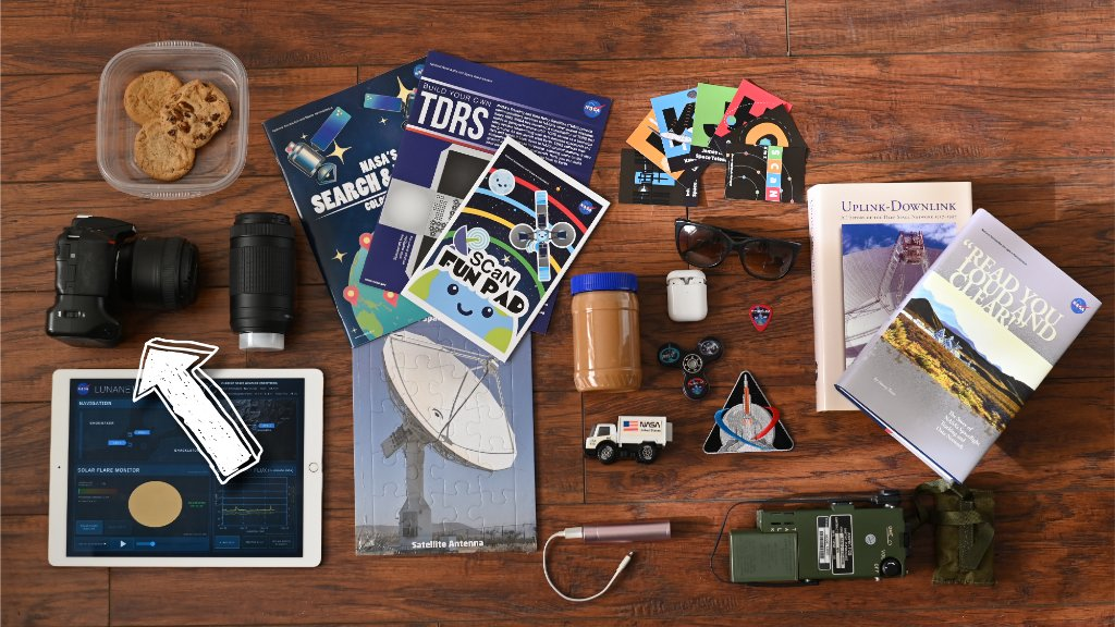 What are you packing in your #NASAMoonKit? Are you packing a camera? If so, you might want to pack a @NASA_Technology LaserComm terminal as well! LaserComm's higher data rates will allow you to transmit more pixels per second back to Earth. 🖼️ Learn more: go.nasa.gov/34ya7TW