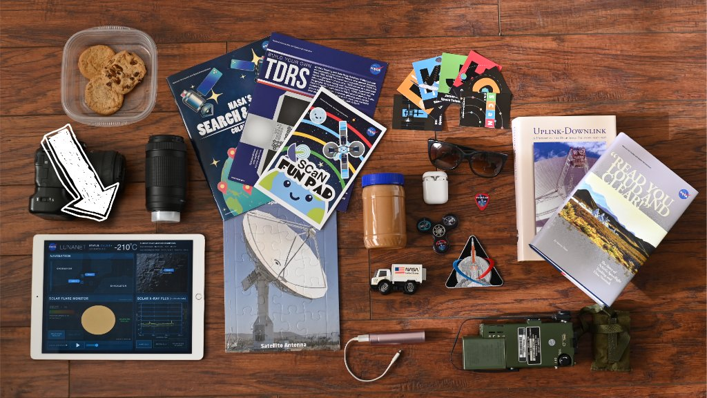 What are you packing in your #NASAMoonKit? Are you packing a tablet? If so make sure you're prepared to connect to LunaNet, the communications architecture that will help #Artemis astronauts stay safe and connected with Earth. 👩🚀 Learn more: go.nasa.gov/3jEpBfI