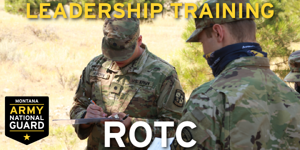 Citizen Soldier: it's what being in the National Guard is all about.  Put yourself ahead of the curve in your civilian career with leadership training through ROTC.  Give your resume a jump start with impressive leadership skills! Visit  for more info!