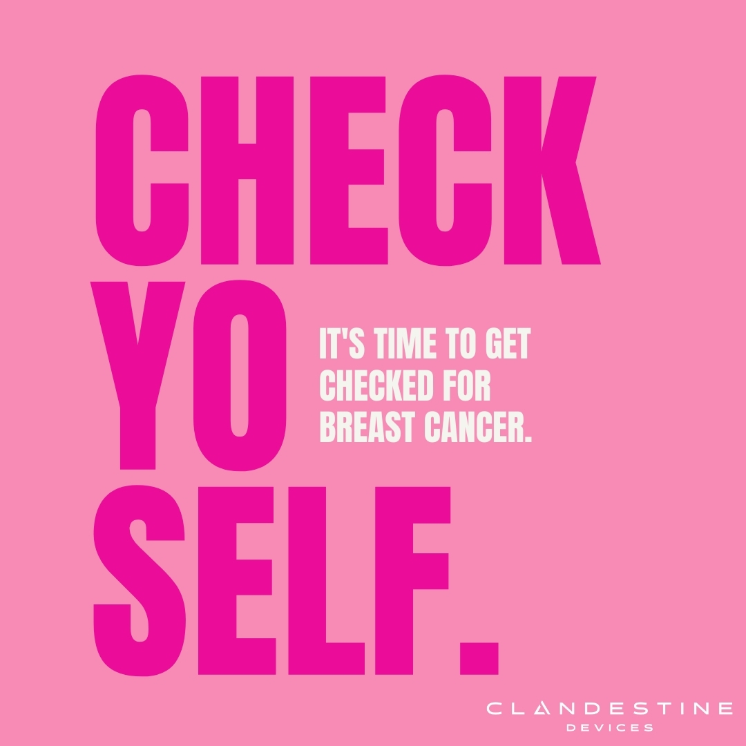 October is #BreastCancerAwareness month! Remember to get a breast exam from your doctor and perform self exams regularly. Heres what you should check for during your self exams. P.S. Ask your partner to help you with your self exams! 😉