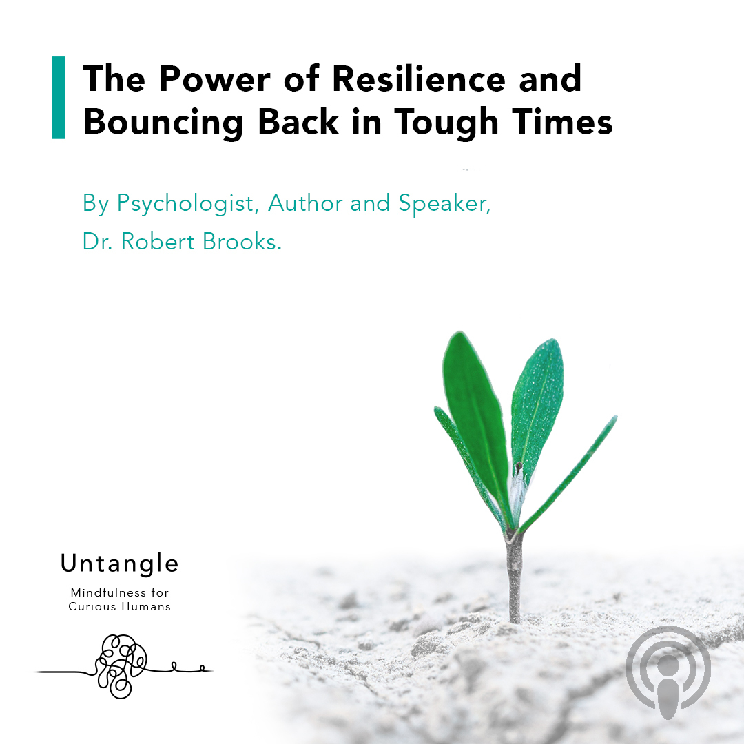 How can gratitude, practicing empathy, and turning off the 'struggle switch' all lead to a more resilient self? Listen to this week's encore episode with @drrobertbrooks and find out. https://t.co/9pdMX9hzIu  #podcast #untangle #meditation #resilience #gratitude https://t.co/OFhivofYBC