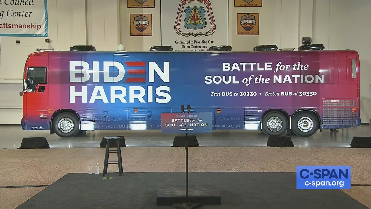 Cspan On Twitter Joe Biden Kamala Harris Campaign In Arizona Live On C Span Https T Co Nphvqpgvvr