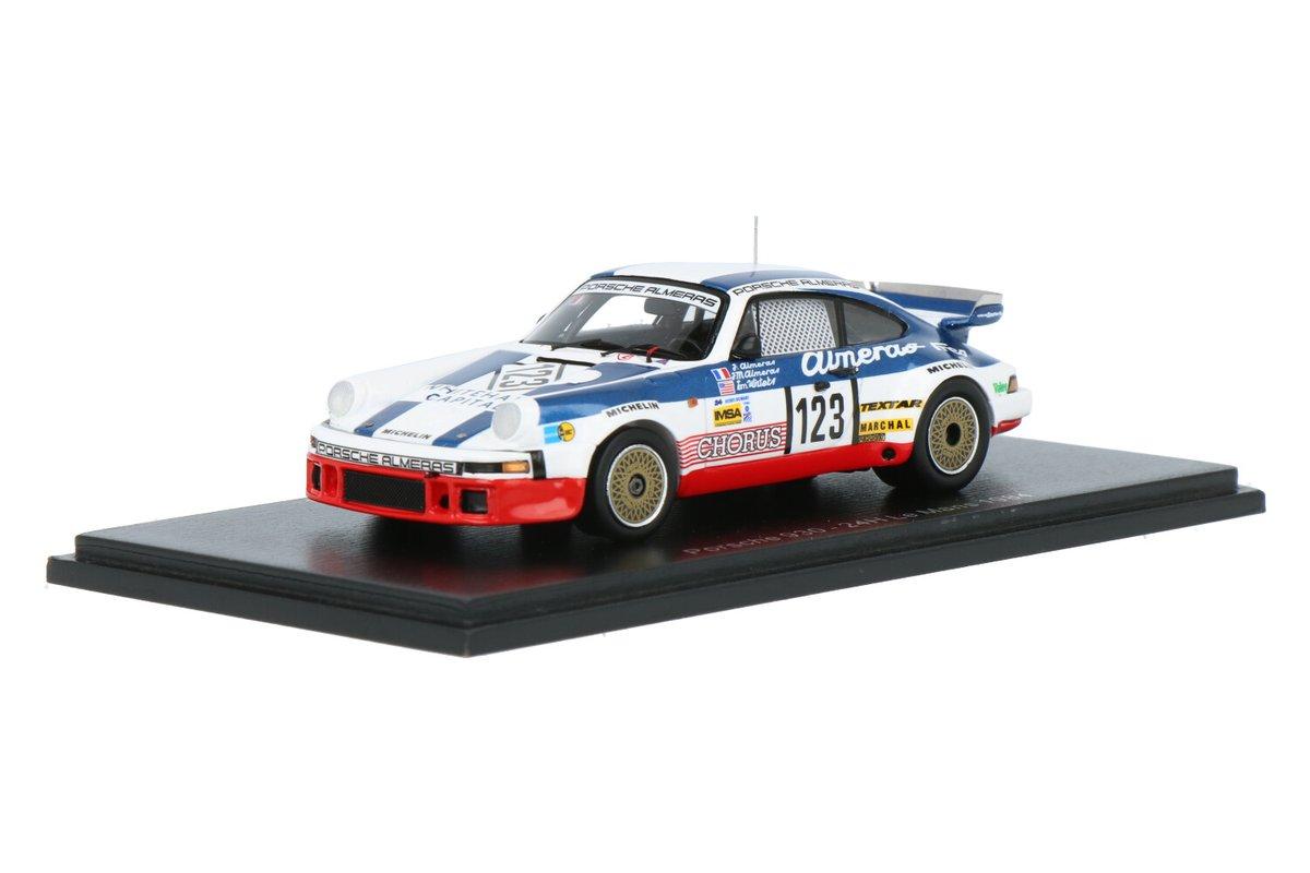 Nieuw: Porsche 930 #Porsche #Spark #24HLeMans #EquipeAlmerasFreres #JeanMarieAlmerasJacquesAlmerasTomWinters #1984 #123 #24hLeMans #modelcars https://t.co/ZCLSaBpXfr https://t.co/SFn3P2Kc8i