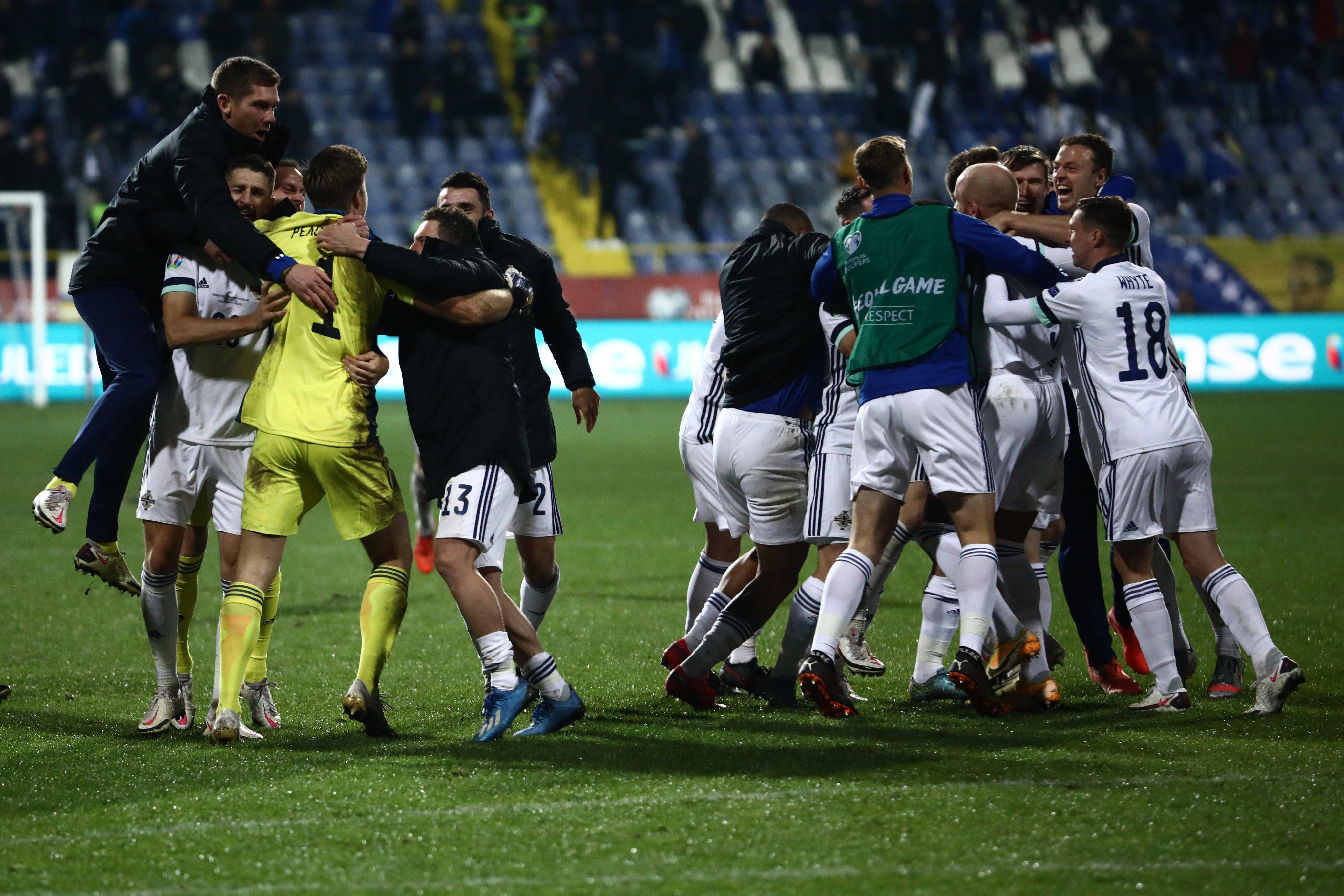 Плей-офф Евро-2020. Северная Ирландия в серии пенальти одолела боснийцев - изображение 1