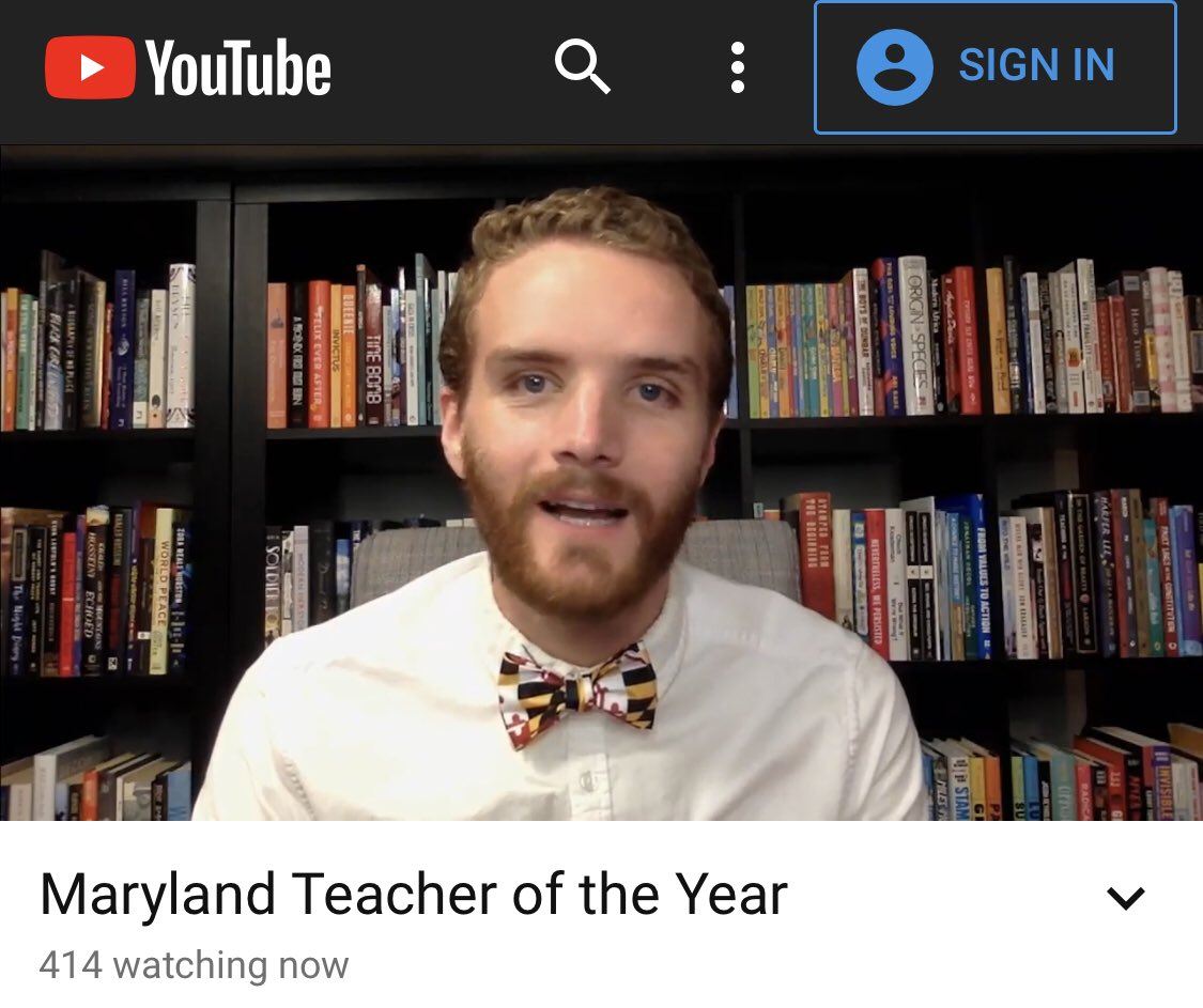 Congratulations to the 2020 MD TOY
