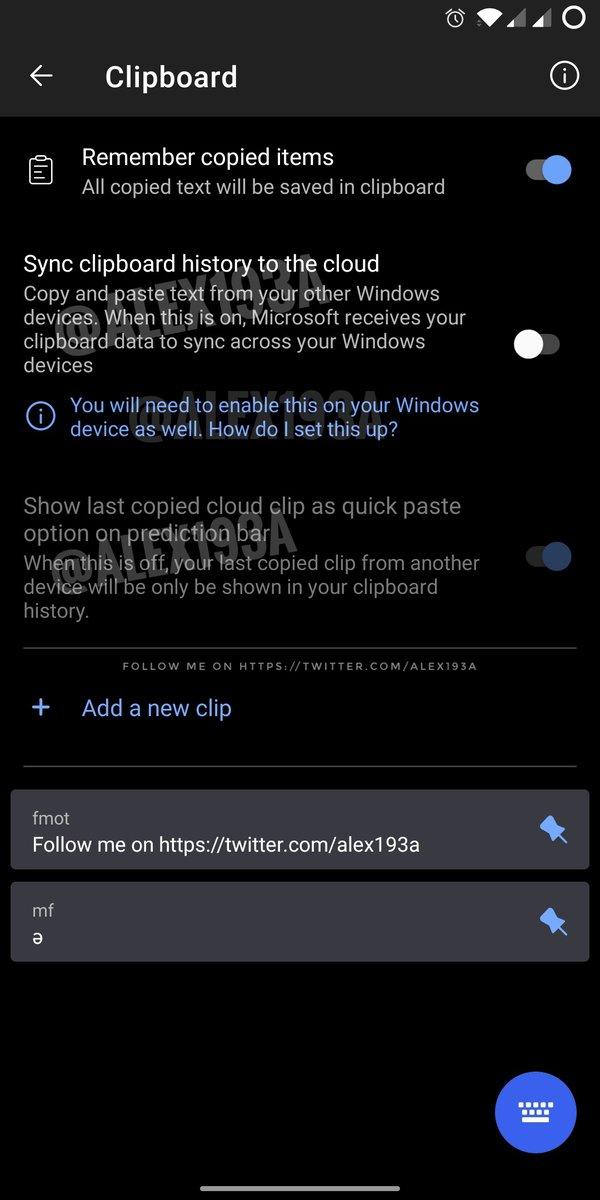 El teclado SwiftKey de Microsoft permitirá sincronizar el portapapeles de Android con Windows 10