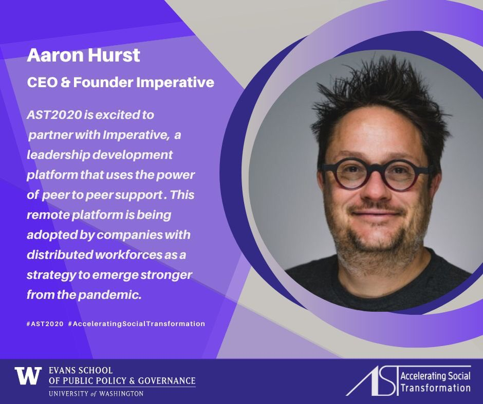 Ast Ers On Twitter Aaron Hurst Founder Ceo Imperative Peer Coaching Platform Author Of Purposeeconomy Shared His Framework For Fertilizing Individual Organizational Societal Purpose In Action W Our Ast2020 Cohort To