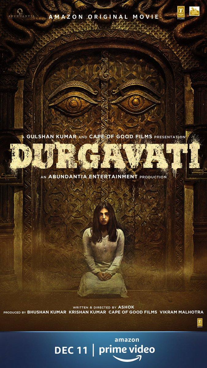 Durgavati coming to haunt you this Dec 11 on @primevideoin #DurgavatiOnPrime #WorldPremiereOnPrime @bhumipednekar @akshaykumar @ashokdirector2 @ArshadWarsi #BhushanKumar @vikramix @Jisshusengupta @MahieGillOnline @TSeries @Abundantia_Ent @ShikhaaSharma03 @Babitaashiwal
