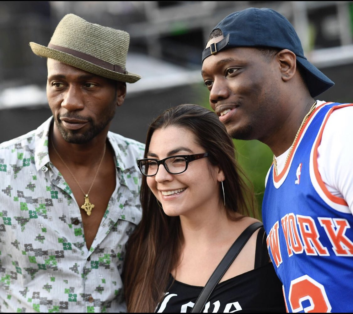 #tbt - @afropunk w/ @timothyanne & #michaelche #prepandemic when you could hug your #friend and take a pic without a worry in the world. #staysafe #chethinks
