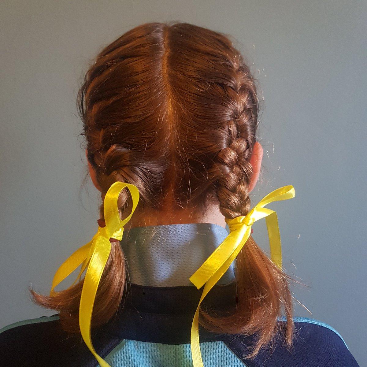 @YoungMindsUK My daughter wearing yellow for #HelloYellow 💛💛💛