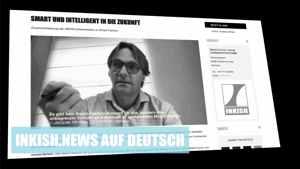 #HURRAY: @InkishNews and @InkishTv gained #toughtleadership. TX also to #INKISHDACH and strong partners around the globe. #print #innovation #conversation #future #futureofprint @PrintDigitalAge @zeitenwende007