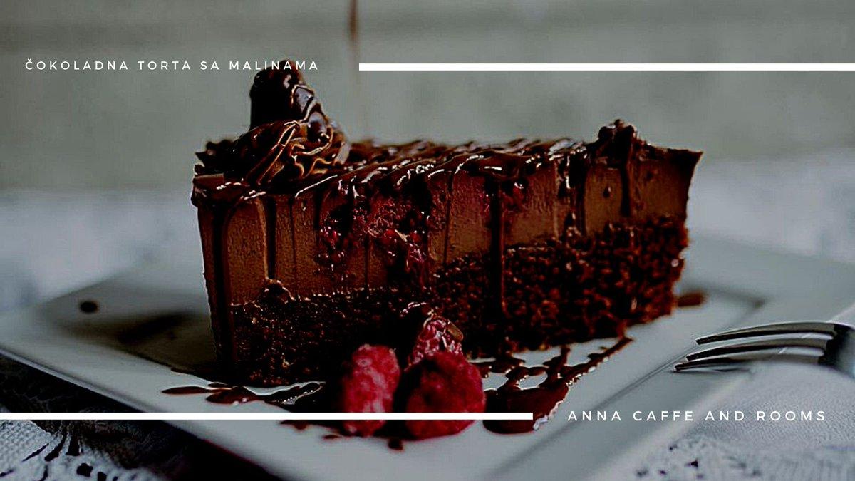 Savršenstvo bez mane-čokoladna torta sa malinama Anna caffe and rooms  #putovanje #srbija  #slatko #veselje #sombor  #turizam #travel #vojvodina #vidisrbiju #seeserbia #domacikolaci #Welcome  #dobrodosli #rooms #sobe #smestaj #annacaffeandrooms #torte #cokoladnatorta https://t.co/pUFVbYh6eJ