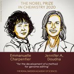 Image for the Tweet beginning: Congrats to Jennifer Doudna and