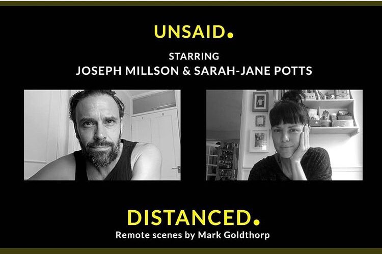 Clever creative types Mark Goldthorp and Alex Bourne, wrote, directed and shot this series of brilliant, socially distanced, short films. First one drops on YouTube today from midday. Re-train? Or re-frame. Enjoy. @distancedscenes