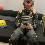 Patience, Esteban. Patience. Waiting for practice to start... 😎  #RSspirit #EifelGP