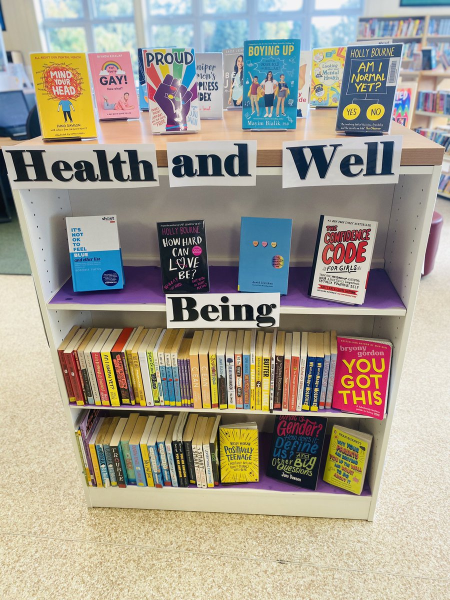 Our EDA library account @EdaLibrary has gone live today. We have been raising awareness of World Mental Health Day. #EDAlovesreading #wordrich #definitionrich