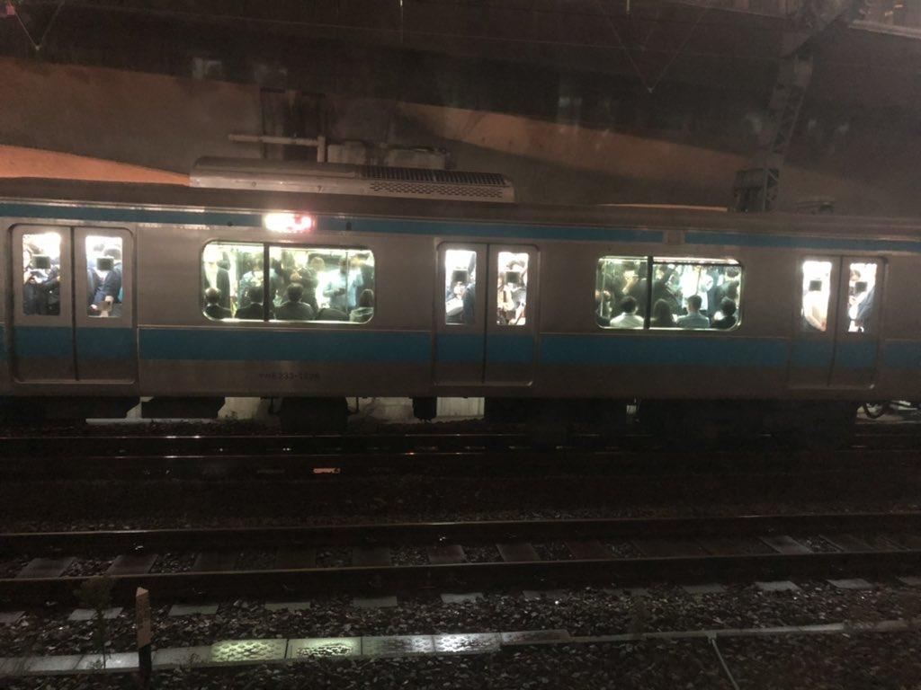 日暮里駅で人身事故が起きた画像