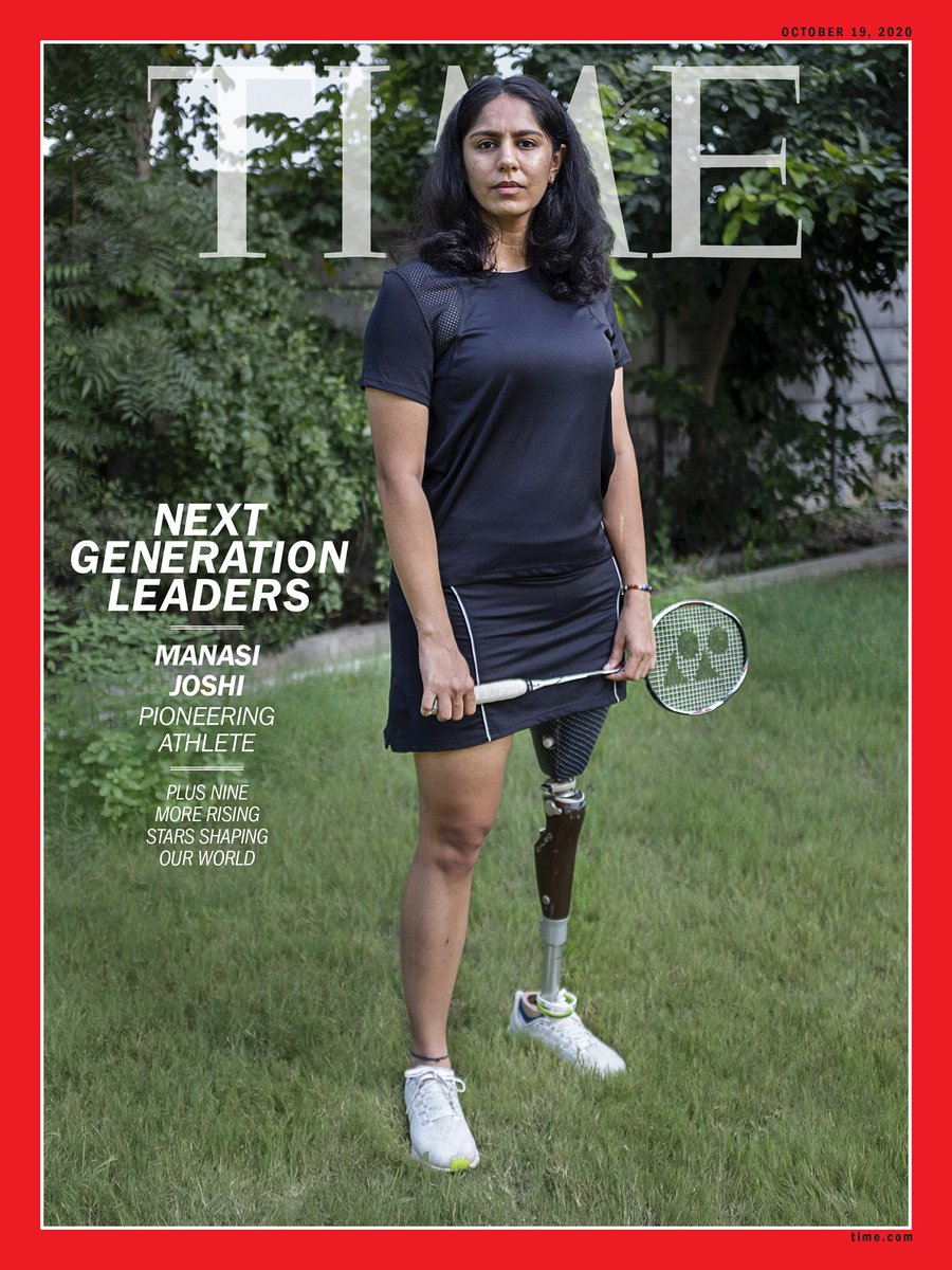 Truly honoured to be recognised by Time Magazine as the Next Generation Leader. The younger me would have never believed it that some day I will be on the cover of TIME and be called the next generation leader. This is so huge On @TIME by @AbhishyantPK photo by Kannagi Khanna