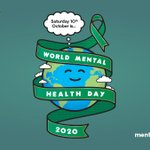 Image for the Tweet beginning: WORLD MENTAL HEALTH DAY -