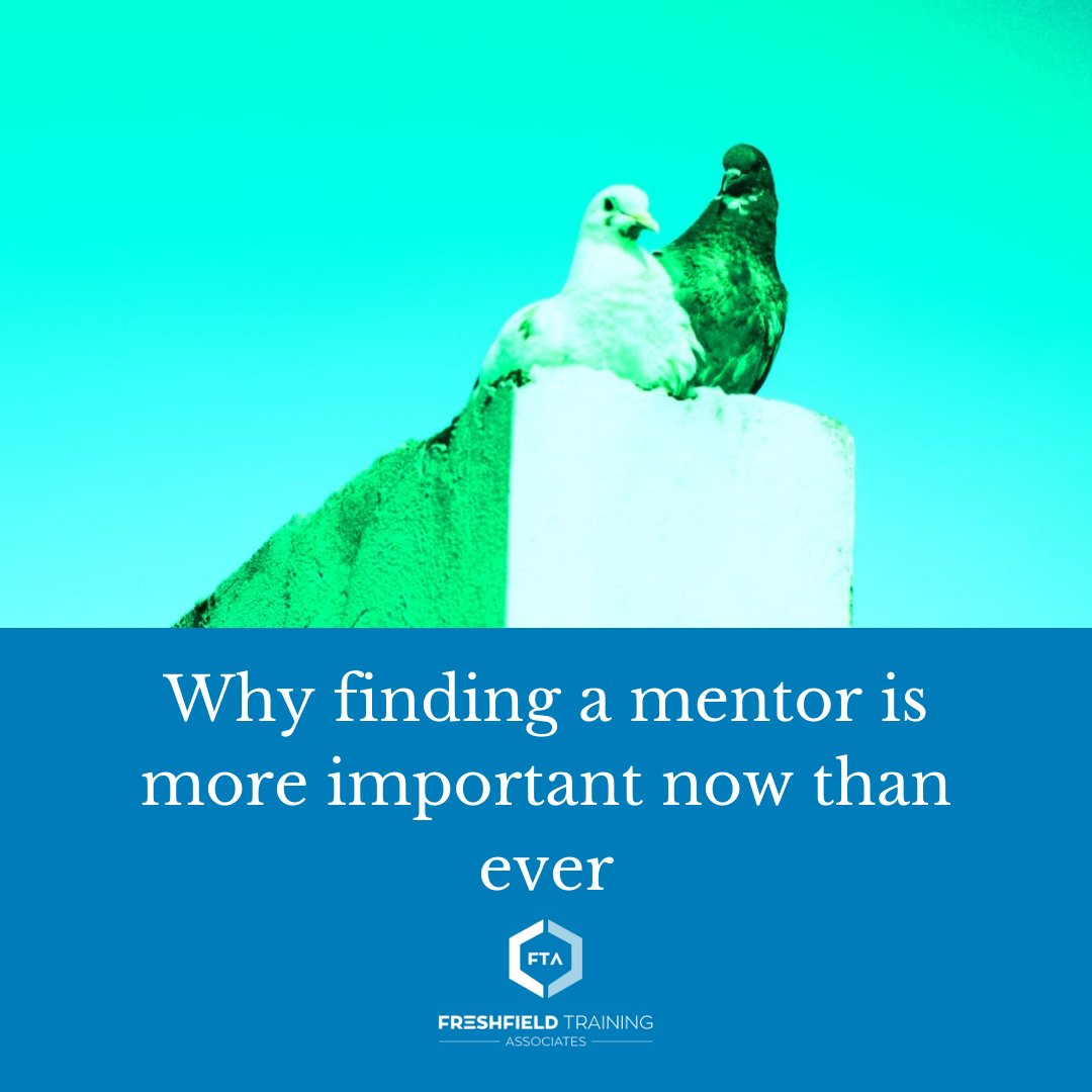 It can be more challenging in this era of remote work to find a mentor. But here's why it's worth the effort.  Read more: https://t.co/g4PWB0K7Ue  #mentorship https://t.co/ykSFOrZEm3
