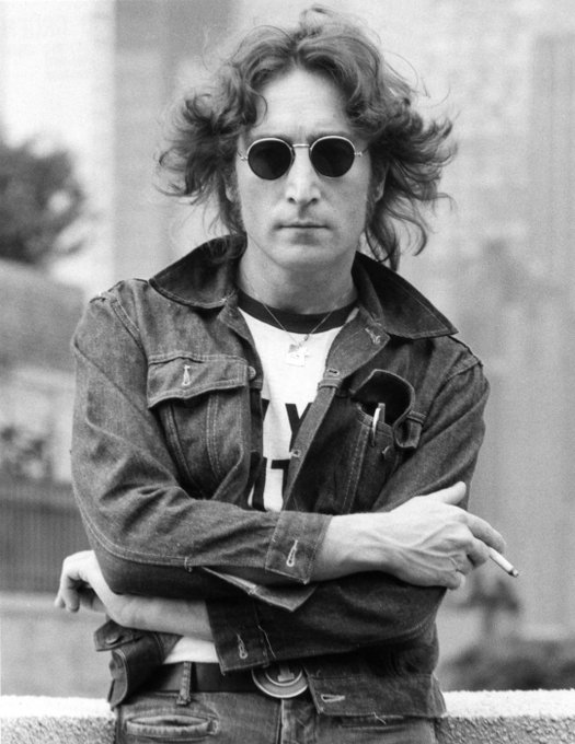 Happy Birthday! to John Lennon he would have been 80 today.... Imagine That!