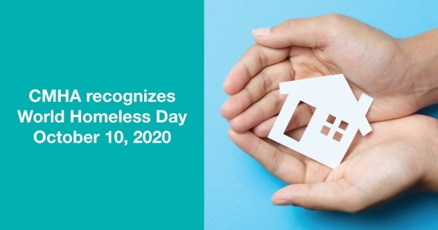 CMHA recognizes #WorldHomelessDay on October 10. Housing is key to recovery: cmhamiddlesex.ca/news/cmha-reco… #SupportiveHousing #HousingFirst