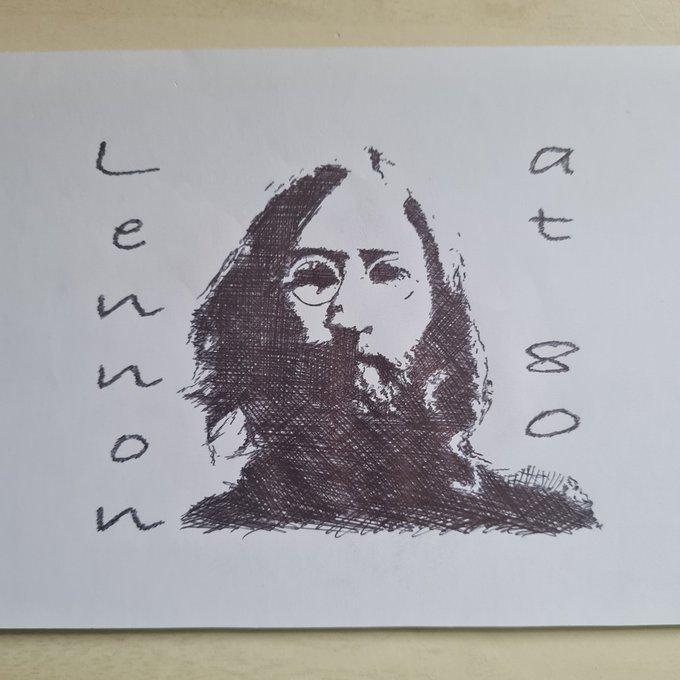 Happy birthday John Lennon. Gone but what a legend.
