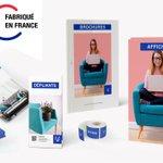 Image for the Tweet beginning: PrintOclock, l'imprimeur Français indépendant et