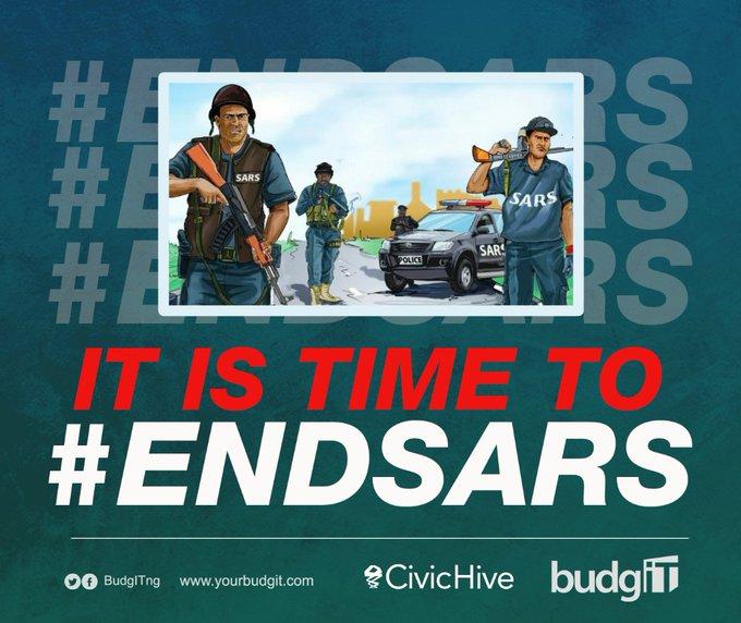 BudgIT #EndSARS