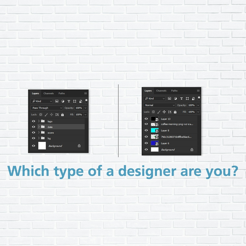 Are you hide-unhide designer or are you the Yogi Adityanath of layers? Do we even need to ask you to tag your fellow designers? 😉 #TwoTypesOfPeople #ThisOrThat https://t.co/8YxsLqPMqi
