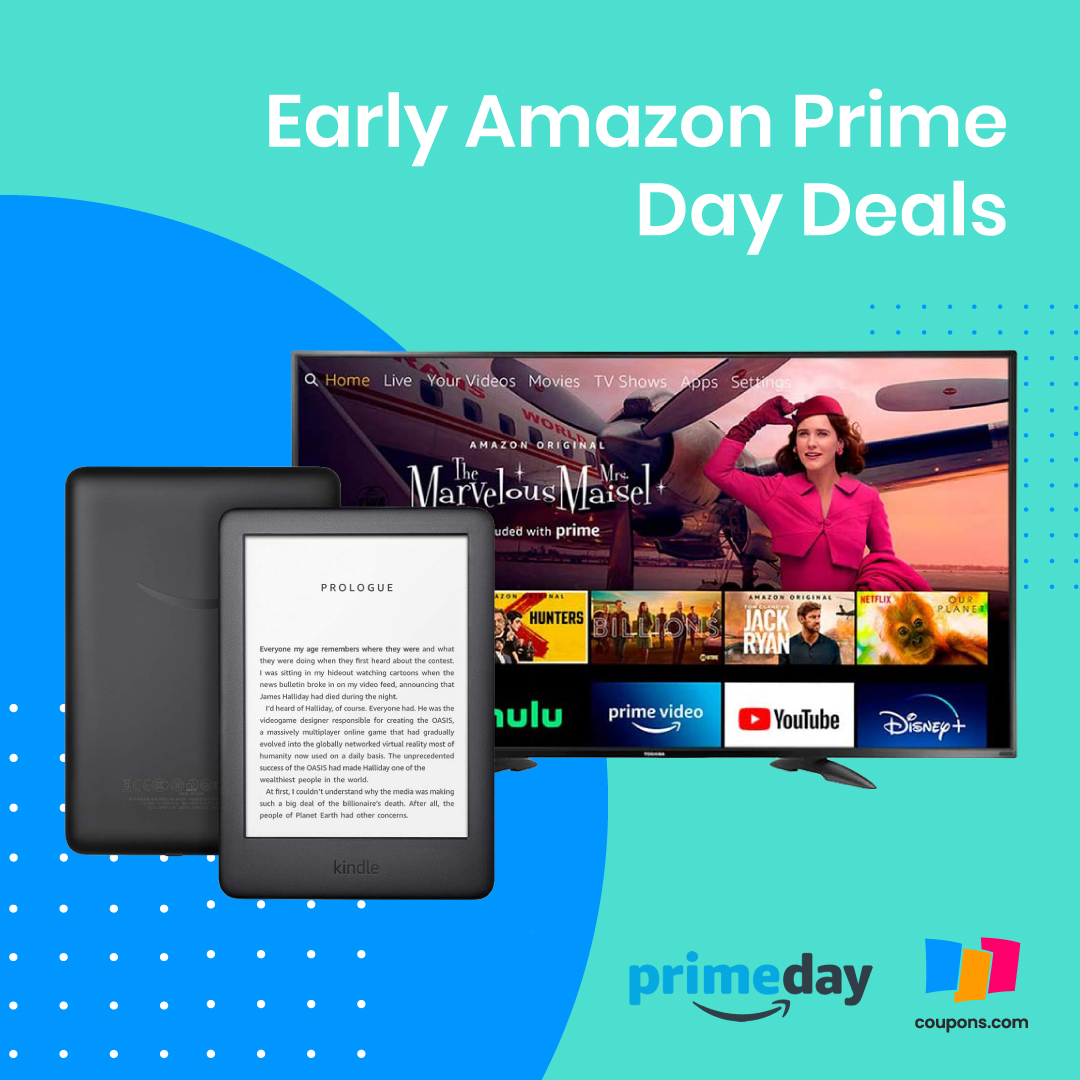Early #AmazonPrimeDay Deals have started! Check out all the deals here: https://t.co/w54KRouXy4  Our favorite early deals: $24.99 Blink Mini Camera 6 months Free Amazon Music with purchase of an Echo Device https://t.co/GrDzb1zllZ