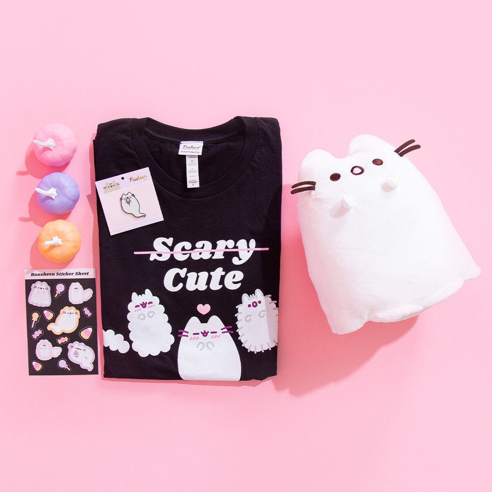 👻 GIVEAWAY 👻 Enter the Pusheen Shop #Boosheen #Giveaway to win a bunch of Boosheen goodies to help you get in the #Halloween spirit! Entries close at 12:00 midnight CT on October 15, 2020. Click the link to enter! 🎉 bit.ly/36LOS3S