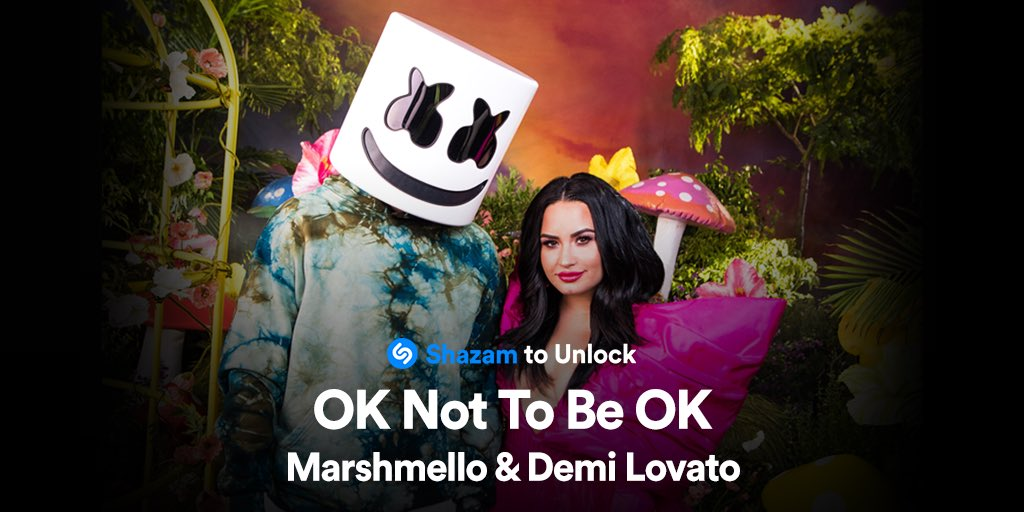 .@Shazam OK Not To Be OK for a sneak peek behind the scenes from the music video with me and @ddlovato 🎥 https://t.co/d3WjJsYz9o