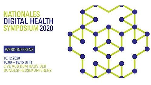 Jetzt anmelden: Das Nationale Digital Health Symposium 2020 #NDHS20 von @GVG_eV + @TMF_eV am 16.12.2020 aus dem Haus der Bundespressekonferenz im interaktiven Webkonferenzformat. Wir freuen uns auf tolle Gäste 🙌 und den Austausch. Programm + Anmeldung 👉https://t.co/iOWcy9yqBX https://t.co/OXs7c45J5b