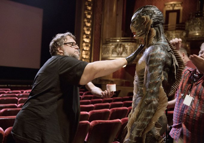 Happy Birthday, Guillermo del Toro, seen here in his natural element.