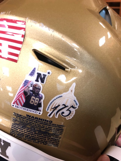 Well be wearing a @NavalAcademy 175 Years decal on our helmets this week to celebrate USNAs establishment on Oct. 10th, 1845. #BuiltDifferent