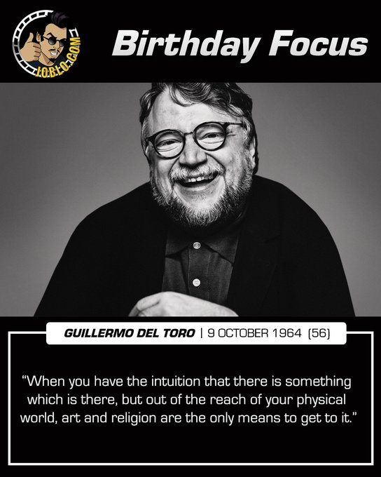 Wishing a very happy 56th birthday to Guillermo Del Toro!  What do you think is his best film?