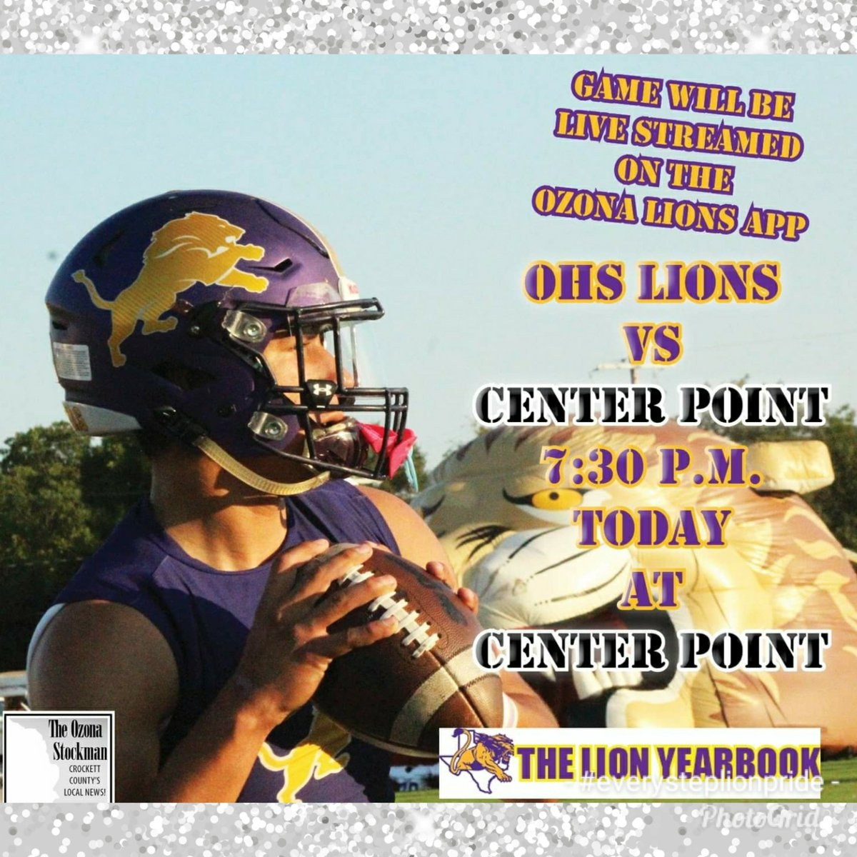 Ozona Lions football looks for upset against No. 6 Post Antelopes