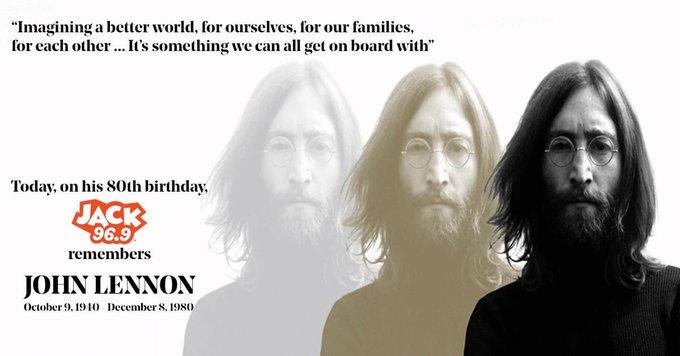 Happy 80th birthday John Lennon.