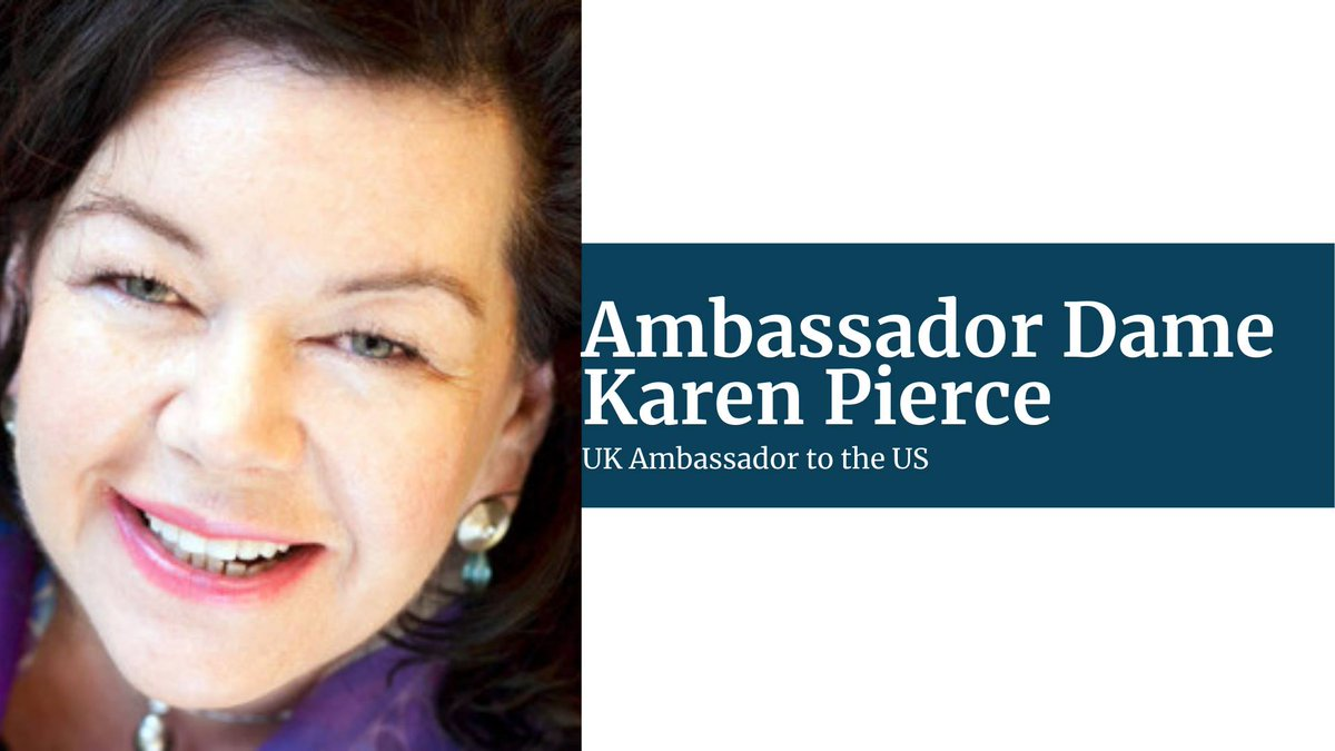 Just under an hour until @KarenPierceUK speaks at the @OxfordUnion! Sign up for the event here if you haven't already!