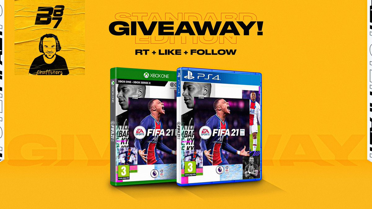 🚨 BIG ANNOUNCEMENT 🚨  If you would like to win a copy of #FIFA21 simply follow these 5 steps!   Follow @bateson87  Follow @Chuffsters  Follow @TwoOldFUTs  RT the tweet  Like the tweet   Good luck!