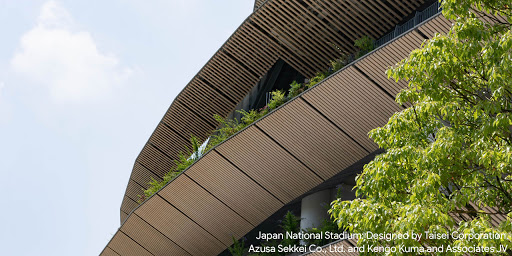 Tour some signature buildings of #KengoKuma, (including the new Japanese National Stadium), which all artfully blend functionality, nature and local cultures.  https://t.co/tLR4YbSfRc https://t.co/4N74YmwJvy