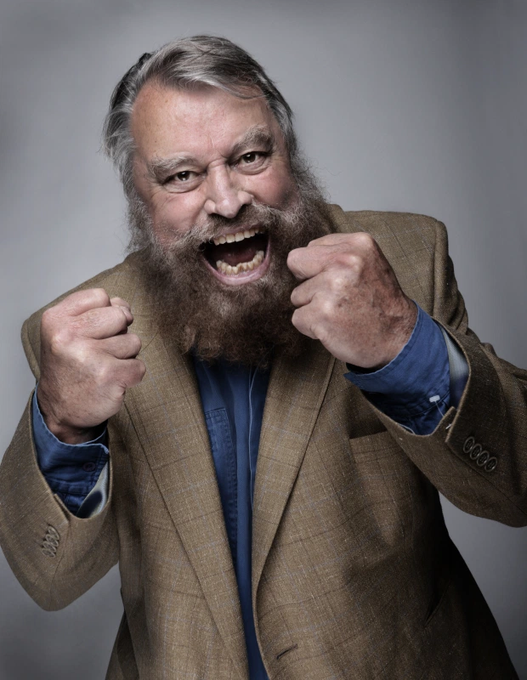 Happy birthday to English actor, writer, television presenter and singer Brian Blessed, born October 9, 1936.